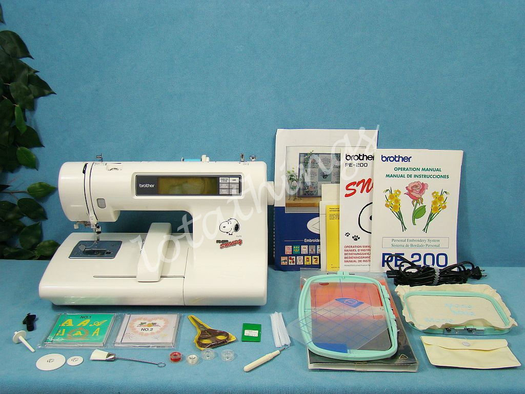 snoopy sewing machine